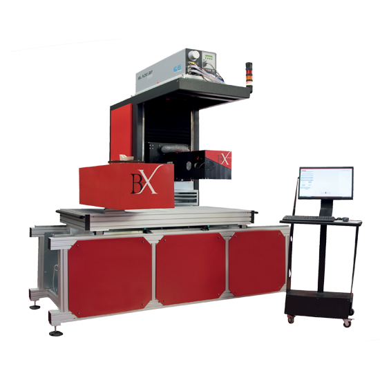 Macchina laser BX Multiaxes - Otlas