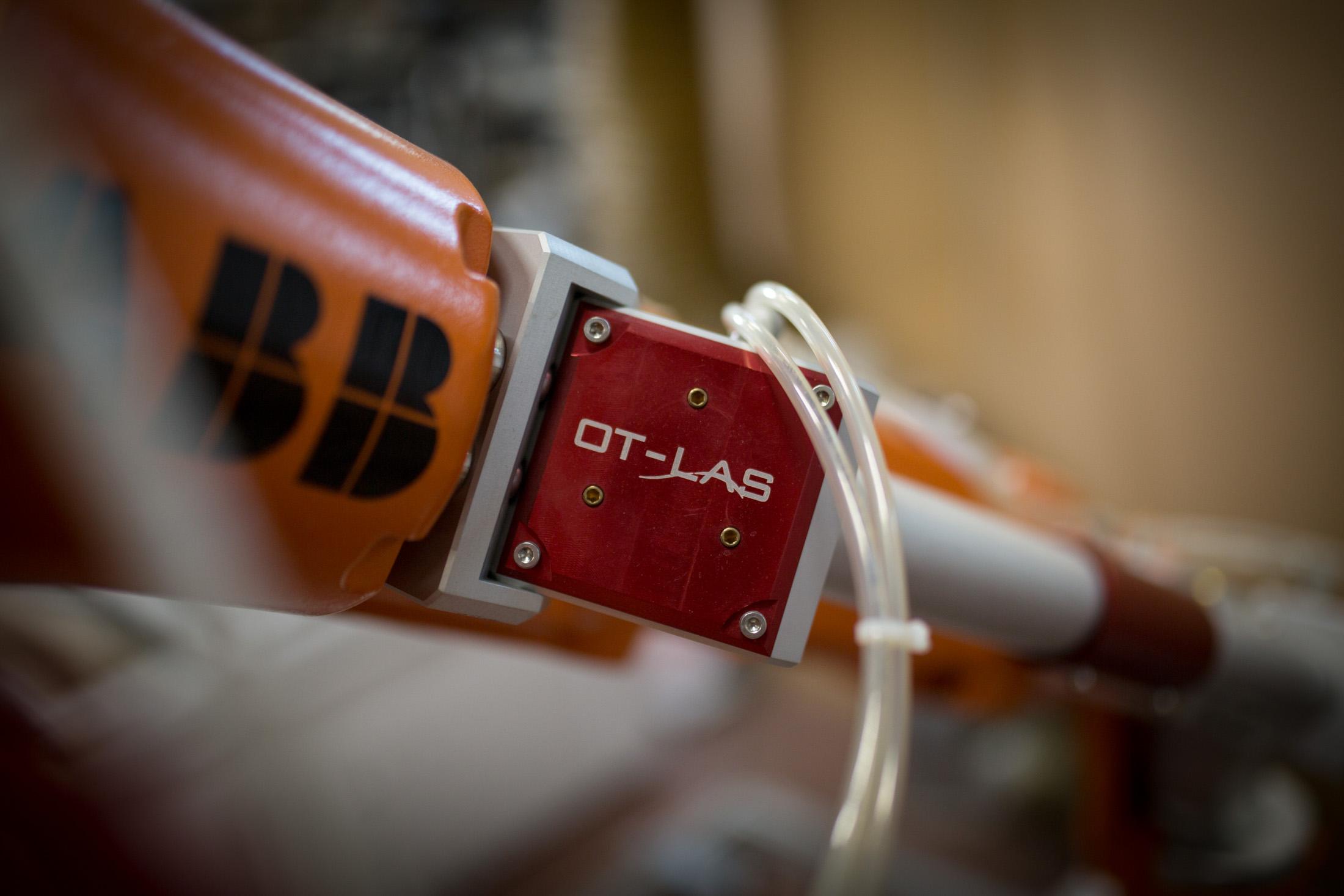 Particolare robot laser RX Ot-las