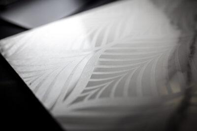 Marcatura laser marmo